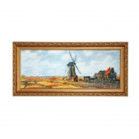 Obraz Pole Tulipanów 27 x 57 cm - Claude Monet Goebel 66519511