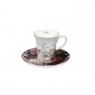 Filiżanka do kawy Martwa natura z kwiatami 7 cm - Jean Baptiste Robie Goebel 67011771