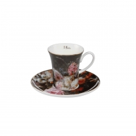 Filiżanka do kawy Martwa natura z różami 7 cm - Jean Baptiste Robie Goebel 67011771