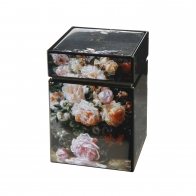 Pudełko na herbatę Martwa natura z różami 11 cm - Jean Baptiste Robie Goebel 67065111