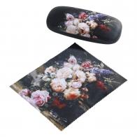 tui na okulary Martwa natura z różami 16 x 4,5 cm - Jean Baptiste Robie Goebel 67060961