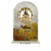 Zegar kryształowy 23cm Dom Artysty Claude Monet 67021571 Goebel