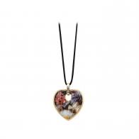 Naszyjnik Martwa natura z różami 4,5 cm - Jean Baptiste Robie Goebel 67045121