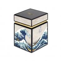Pudełko na herbatę 11 cm Wielka Fala, Great Wave - Katsushika Hokusai Goebel 67065101