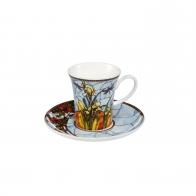 Filiżanka do espresso Paw niebieski 7 cm - Louis Comfort Tiffany Goebel 67011741