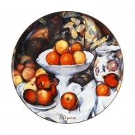 Talerz ścienny 36 cm - Still Life I - Paul Cézanne Goebel 67110081