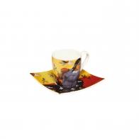 Filiżanka 6,5 cm z podstawką - Kobieta z mango - Paul Gauguin Goebel 67130021