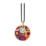 Naszyjnik Badanie barw 5 cm - Wassily Kandinsky 67100131 Goebel