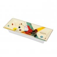 Misa porcelanowa Koła w okręgu 23 x 9 cm - Wassily Kandinsky 67100111 Goebel