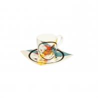 Filiżanka 6,5 cm z podstawką - Wassily Kandinsky 67100031 Goebel