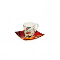 Filiżanka 6,5 cm z podstawką - Wassily Kandinsky 67100021 Goebel