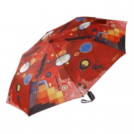 Parasol składany Heavy Red - Wassily Kandinsky 67100061 Goebel