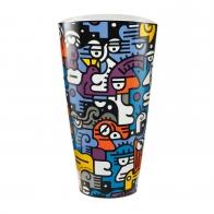 Wazon Rozmowa 50 cm Billy The Artist Goebel 67080361