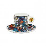 Filiżanka do espresso 0,1 l Rozmowa - Billy The Artist Goebel 67080441