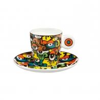Filiżanka do espresso 0,1 l Patrząc w przyszłość - Billy The Artist Goebel 67080431