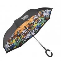 Suprella - parasol odwrotnie składany Patrząc w przyszłość - Billy The Artist Goebel 67080381