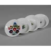 Niekapka okrągła - porcelanowa podstawka pod torebkę