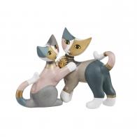 Figurka koty Liviana i Terzo 2017 Rosina Wachtmeister 31346011 Goebel