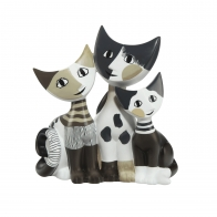 Figurka koty Tibaldo i jego rodzina 15 cm - Rosina Wachtmeister Goebel 31400441