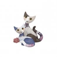 Figurka koty Lorena i Gulio 8 cm - Rosina Wachtmeister Goebel 31257021