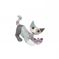 Figurka kot Melitina bawi się z motylem 6 cm - Rosina Wachtmeister Goebel 31338101