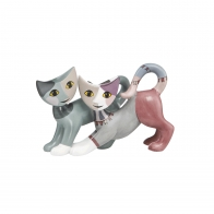 Figurka koty Meneo i Alma 7 cm - Rosina Wachtmeister Goebel 31338111
