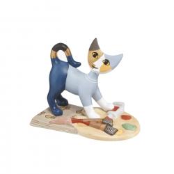 Figurka kot Mistrz malarstwa 8 cm - Rosina Wachtmeister