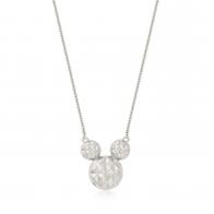 Naszyjnik z diamentami srebrny - Myszka Mickey Couture Kingdom 12100741