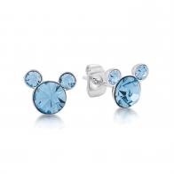 Kolczyki jasnoniebieskie Marzec - Myszka Mickey Couture Kingdom 12100781