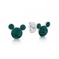 Kolczyki zielone Maj - Myszka Mickey Couture Kingdom 12100801