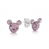 Kolczyki jasnoróżowe Czerwiec - Myszka Mickey Couture Kingdom 12100811