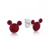 Kolczyki czerwone Lipiec - Myszka Mickey Couture Kingdom 12100821