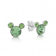 Kolczyki jasnozielone Sierpień - Myszka Mickey Couture Kingdom 12100831