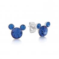 Kolczyki niebieskie Wrzesień - Myszka Mickey Couture Kingdom 12100841