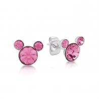 Kolczyki różowe Październik - Myszka Mickey Couture Kingdom 12100851