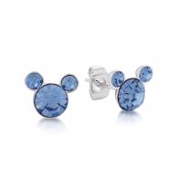 Kolczyki niebieskie Grudzień - Myszka Mickey Couture Kingdom 12100871