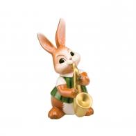 Figurka Królik Saksofonista 14 cm Goebel 66844091