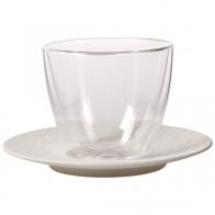 Zestaw do białej kawy - biały - Manufacture Rock Blanc Villeroy & Boch 10-4240-1200