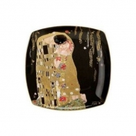 Talerz deserowy 21cm Pocałunek - Gustav Klimt