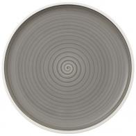 Talerz do pizzy 32 cm - Manufacture gris Villeroy & Boch 10-4238-2590