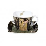 Filiżanka do espresso 6,5cm Pocałunek - Gustav Klimt