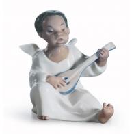 Figurka Anioł grający na gitarze 12 cm Lladró 01004537