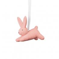 Zając mały różowy 6,5 cm - Rabbits Rosenthal 69094-321389-94233