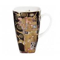 Kubek do kawy 14cm Spełnienie - Gustav Klimt