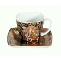 Filiżanka do espresso 6,5cm Spełnienie - Gustav Klimt