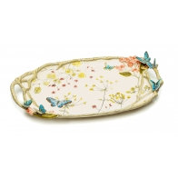 Taca 47x31 cm - Butterfly fields Fitz and Floyd 80210
