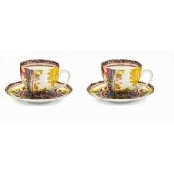 Zestaw dwóch filiżanek do herbaty 16 cm - Santa Rosalia Palais Royal 36898