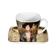 Filiżanka do espresso 6,5cm Judyta I - Gustav Klimt