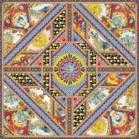Szal 55 x 55 cm - Santa Rosalia Palais Royal 36905