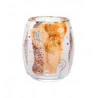 Świecznik - Tealight 13,5cm Węże wodne - Gustav Klimt